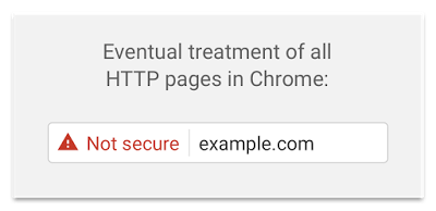 alerte chrome ssl