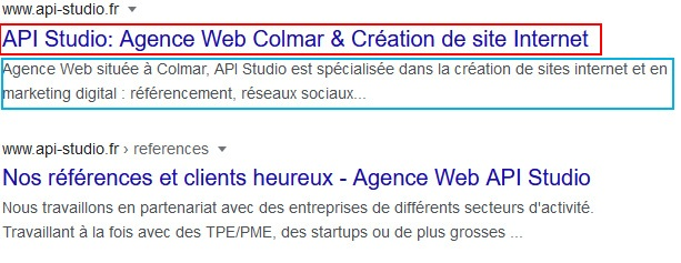 exemple balise resultats google